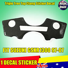 1 PCS Decal Pad Triple Tree Top Clamp Upper Front End Suzuki GSXR1300 1999-2007