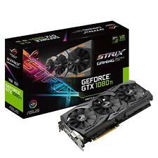 ASUS NVIDIA GeForce GTX 1080TI ROG Strix Edición 11 gb Gddr 5X leer descripción