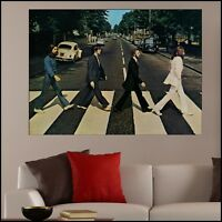 The Beatles Abbey Road Full Colour Printed Vinyl Wall Art Sticker Decal A4-1.7m