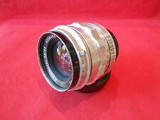 Lens Biometar 2,8/80 mm Carl Zeiss Jena for Praktina ALUMNIUM