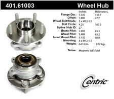 Axle Bearing and Hub Assembly-AWD Front,Rear Centric 401.61003