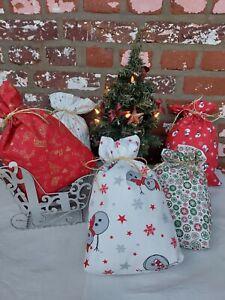 Weihnachtsbeutel , Weihnachtssack, Nicolausbeutel,Nicolaussack, Geschenekbeutel