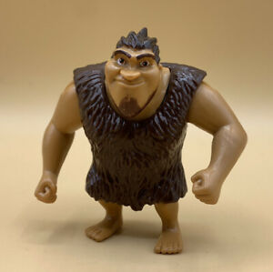 THE CROODS MACAWNIVORE TAR PIT PLAYSET GRUG (Figure Only) FISHER PRICE 2012 HTF