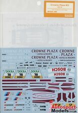 1/24 Crown Plaza BMW M3 2013 DTM #16 Andy Priaulx decal set by Shunko ~ D243