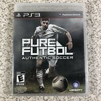 Pure Futbol (Sony PlayStation 3, 2010) Soccer Ubisoft PS3 - Brand New & Sealed