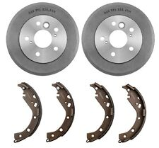 NEW Brembo Rear Drums and Shoes Brake Kit for Toyota Camry 2.4L L4 LE 2004-2006