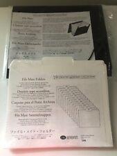 New listing Creative Memories File Mate +13 Folders New Sealed Organizer