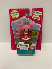 Lalaloopsy Mini Queenie Red Heart  Playset  Brand New