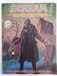 mm Scream (Skywald, 1973) 8FN Edgar Allen Poe Adaptation Would be VF tear on BC