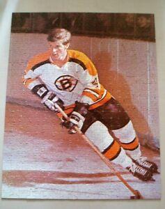 Vintage 100% Complete Bobby Orr 500 Piece Jigsaw Puzzle NHL Bruins Hockey 16x20