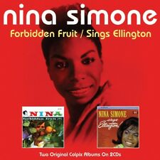 NINA SIMONE - FORBIDDEN FRUIT/SINGS ELLA 2 CD NEUF