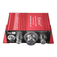 12V Mini Hi-Fi Audio Amplifier Booster MP3 Stereo for Car Motorcycle Boat Y4C1