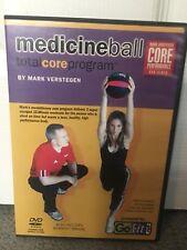 Medicine Ball Total Core Program DVD Mark Verstegen Go Fit Workout Exercise Rare