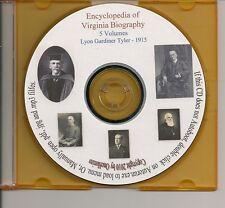 Encyclopedia of Virginia Biographies Vol. 1-5