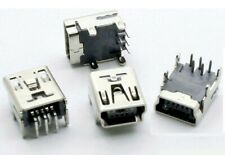 Connecteur à souder mini USB type B femelle / Solder connector female SMD Socket