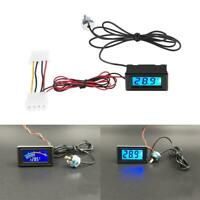 LED Display Temperature Detector Thermometer for PC Water Cooling System L&6