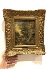 Really Old Painting Oil On Panel Early 19th Century John Constable Sketch