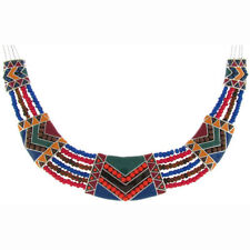 Collar Beaded Costume Necklaces & Pendants
