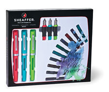 NEW Sheaffer Classic Maxikit Calligraphy Fountain Pens Gift Set, Maxi Kit 83404