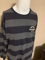 Vintage Ralph Lauren Polo Jeans Tiny Spell Out Long Sleeve Mens T Shirt Large L