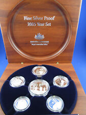 2005 FINE SILVER PROOF YEAR SET- SUPERB!!!