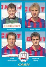 n°354 VIGNETTE PANINI CHAMPIONNAT DE FRANCE 1996 4 joueurs CAEN