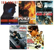 MISSION IMPOSSIBLE 1 2 3 4 5 COMPLETE COLLECTION DVD Ghost Protocol Rogue Nation