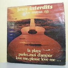 """33 tours LOS MAYAS Disque LP 12"""" JEUX INTERDITS - Guitare MFP 046-13.163"""