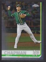 Topps - Chrome 2019 - # 46 Matt Chapman - Oakland Athletics