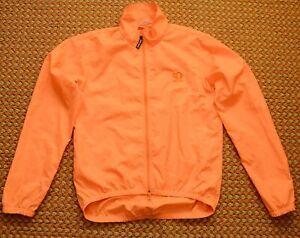 Pearl Izumi, thin, orange Wind Jacket, Size Adult Large