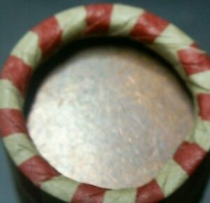 1931 D END  / BLANK PLANCHET END LINCOLN WHEAT CENT ROLL UP FOR AUCTION!