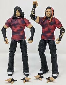 WWE Mattel Elite Ringside Brood Matt Jeff The Hardy Boyz Wrestling Figures Lot