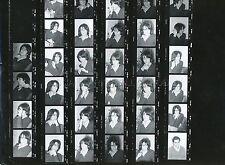 ALAIN CHAMFORT 70s PLANCHE CONTACT AVEC 34 NEGATIFS VINTAGE PHOTO ORIGINAL  #1