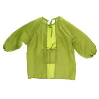 Waterproof Art Smocks Long Sleeve Kids Painting Aprons for 100-120cm Child