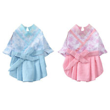 Lovely Pet Costume Chinese Style Pet Hanfu Cat Dog Clothes Dress Puppy Supplies
