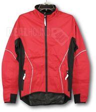 NWT Men's ZORREL CORTINA Athletic Training Jacket - Red/Black - SMALL