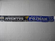 sciarpa LECH POZNAN - JUVENTUS europa league 2011 football club calcio scarf