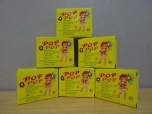 6 x Pop Pop Snappers Trick Noise Maker Novelty  Bang, Drop It Throw It. Pop Pops