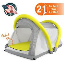 SereneLife SLTENTAIR Waterproof Outdoor Inflatable Camping Airbed Tent