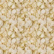 1 x Bag Ivory Confetti Petals - Natural Biodegradable  Delphinium Petals
