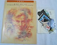 Sealed 1986 Mint Set Commemorative USPS Souvenir Yearbook Album with Stamps