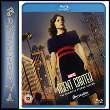MARVEL'S AGENT CARTER - COMPLETE SEASON 2 AGENT CARTER  *BRAND NEW BLURAY**