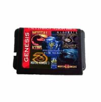 5 In 1 Collection 16 Bit MD Game Card For Sega Mega Drive For Genesis
