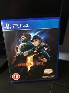 Resident Evil 5 PS4 Game Playstation 4