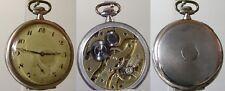 Offene Herrentaschenuhren zur Firmung 1928 Silber (24121)