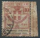 1924 REGNO USATO ENTI PARASTATALI 10 CENT - RR13804-3