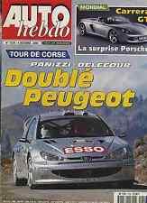 AUTO HEBDO n°1259 du 4 Octobre 2000 CORVETTE C5 BMW 330ci cab TOUR DE CORSE