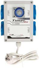 TIMER box industrial SPINA 4x600W 16A growroom QUADRO ELETTRICO GSE