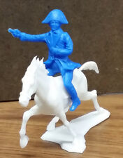 Dulcop Mounted Napoleon Character - 54mm unpainted plastic toy soldiers