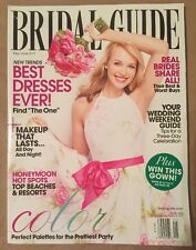 New BRIDAL GUIDE Magazine BEST DRESSES HONEYMOON HOT SPOTS COLOR GOWN